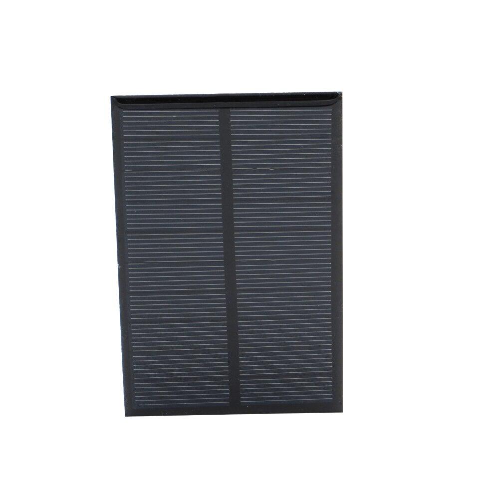 Solar Panels 5V 1.25Watt 0.25A Monocrystalline Silicon Epoxy Module Mini Solar Cells For Charging Cellphone Battery Wholesale