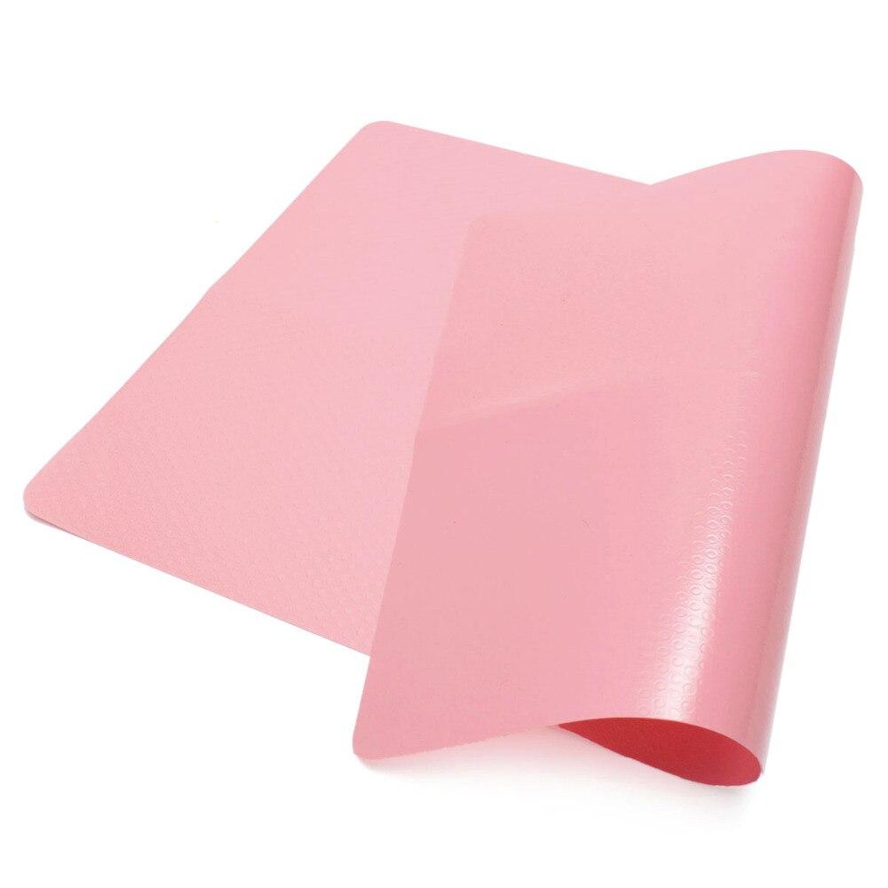 Esteras de silicona para el hogar de 44x28,5 cm revestimiento para hornear estera de mesa antideslizante plato comida mantel resistente al calor almohadilla para hornear