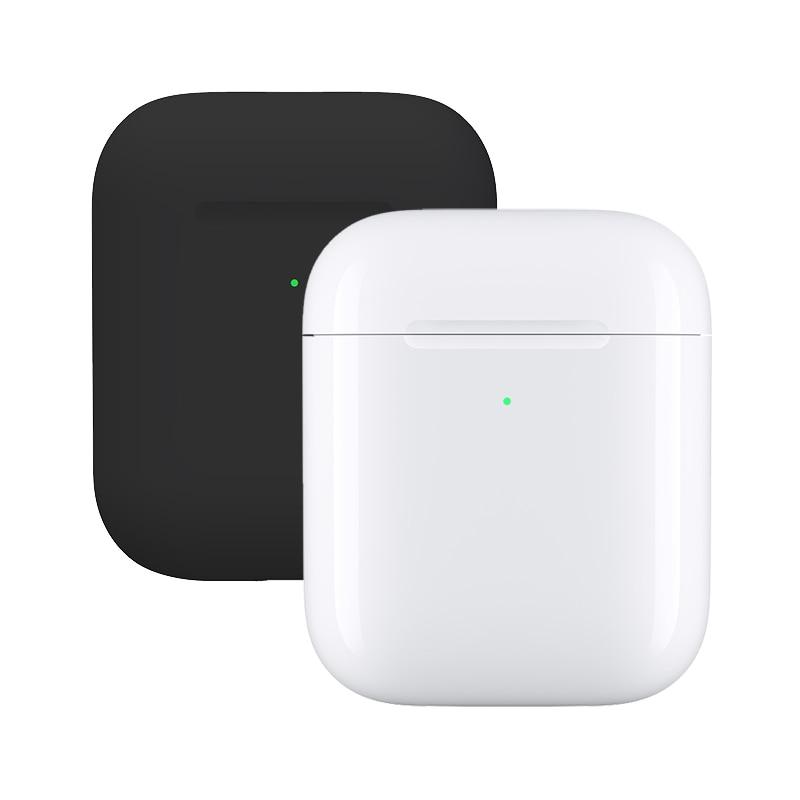 Konsmart TWS auriculares Bluetooth para Apple iPhone 6 7 8 Plus XR XS 11 Pro Max iPad aire iPod auriculares con funda de carga inalámbrica