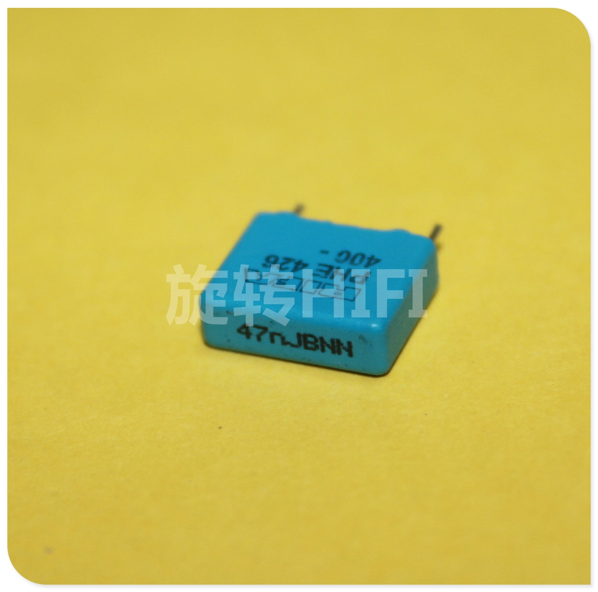PHE426 10PCS RIFA 0.047UF 400V MKP P10MM 473/400V áudio Capacitor de filme azul 426 0.047u 400VDC 47NF 473