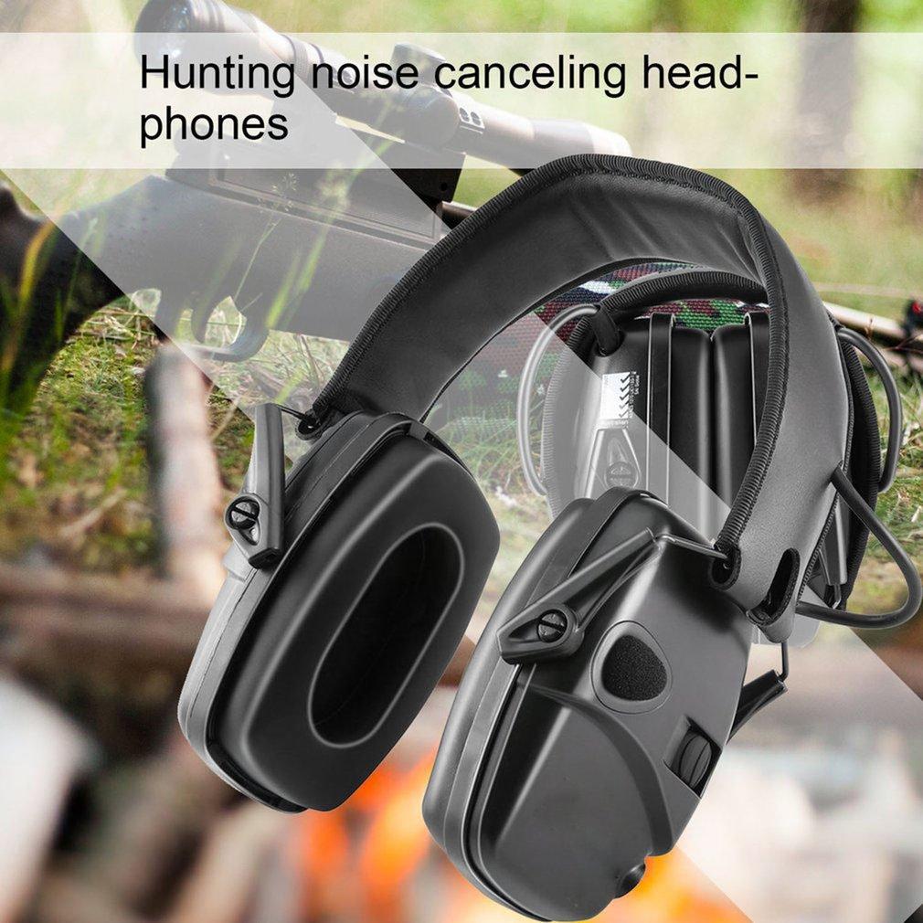 Уличные тактические Спортивные Усилители звука с защитой от шума, Электронные Наушники для стрельбы, защитные наушники для охоты, слуха, оп...