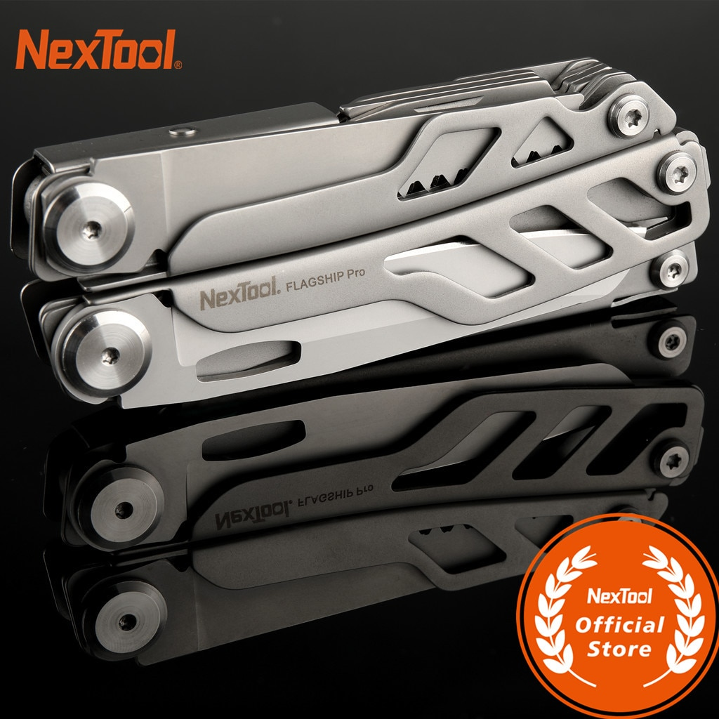 NE0104 NexTool Flagship Pro EDC Outdoor Hand Tool Set 16 IN 1 Multi-Tool Pliers Folding Knife Screwd