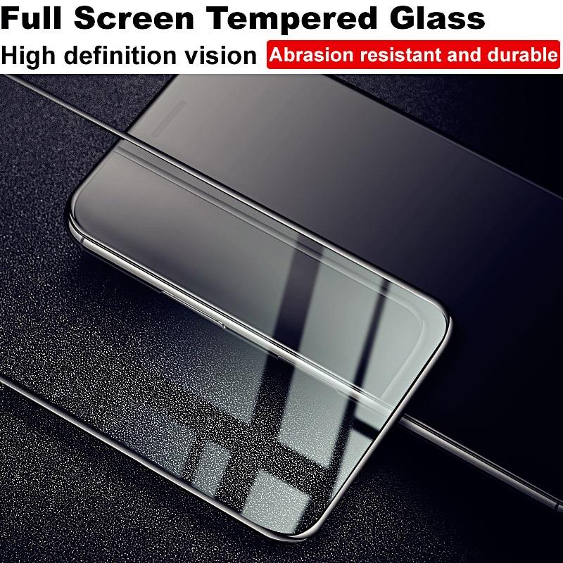 Cobertura completa IMAK vidrio templado para Meizu 16th vidrio Protector de pantalla Anti-explosión película para Meizu 16th 16 de vidrio templado