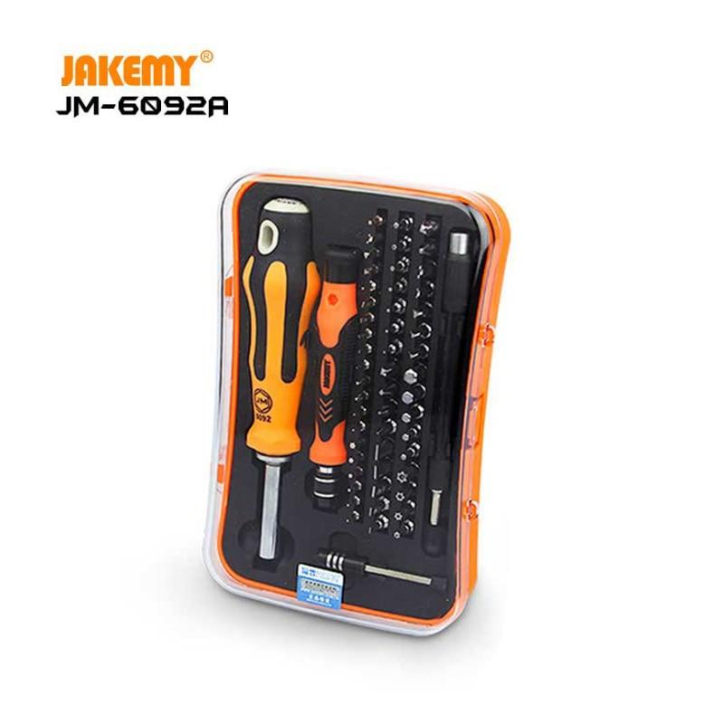 JAKEMY JM-6092A B 58 в 1 Профессиональный Набор отверток для ремонта бытовой техники Набор отверток для ремонта телефона