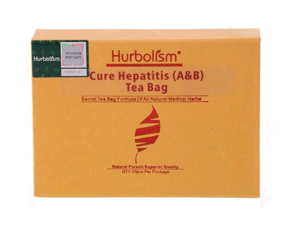 Hurbolism Cure Hepatitis (A&B) Tea Bag Natural Herbal formula for Cure and Prevent Cirrhosis, Fatty Liver Disease, FLD
