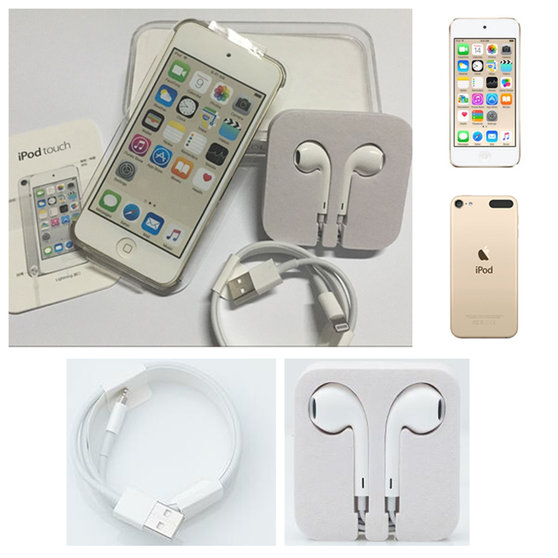 Refurbishment Apple Ipod Touch5 MP3/4 4.0 Inches Touch screen Built-in Speakers 16/32GB ROM Music Video Play with FM E-book enlarge