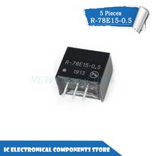 New original    5PCS 10PCS 100PCS SIP-3 R-78E15-0.5 Switching regulator power supply module