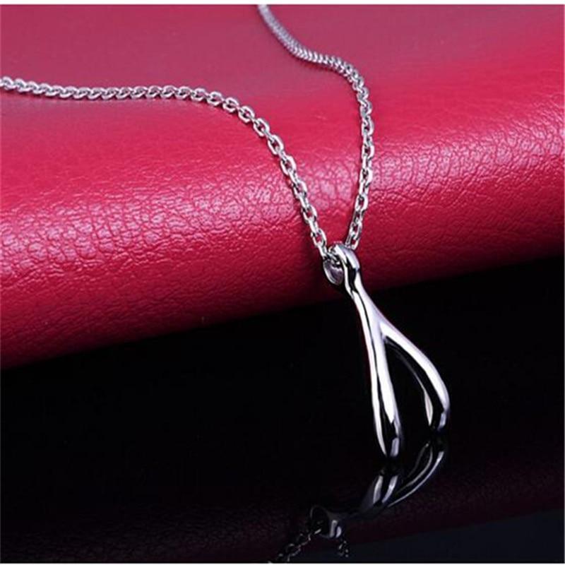 Женское-Ожерелье-чокер-wishbone-из-серебра-925-пробы-модная-Корейская-Милая-бижутерия-подарки-fj097