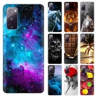 for samsung galaxy s20 fe case soft tpu silicone phone cover for samsung galaxy s20 lite case s20 fan edition s20 ef 5g 4g coque