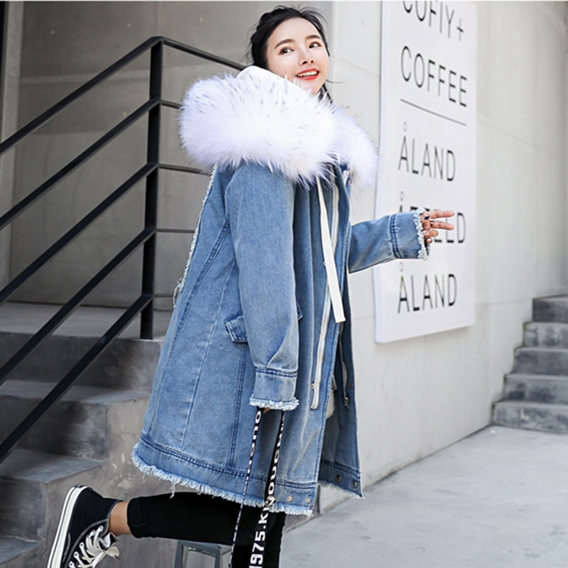 Winter Maternity Super Warm Coat Oversize Fur Collar Pregnancy Cotton Padded Wool Jacket Pregnant Women Parkas Mom Wadded enlarge