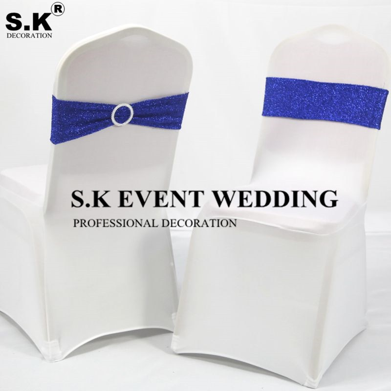 100 قطعة الكثير الترتر كرسي شاح دنة الفرقة كرسي على التعادل القوس ل الزفاف مأدبة الحدث الديكور