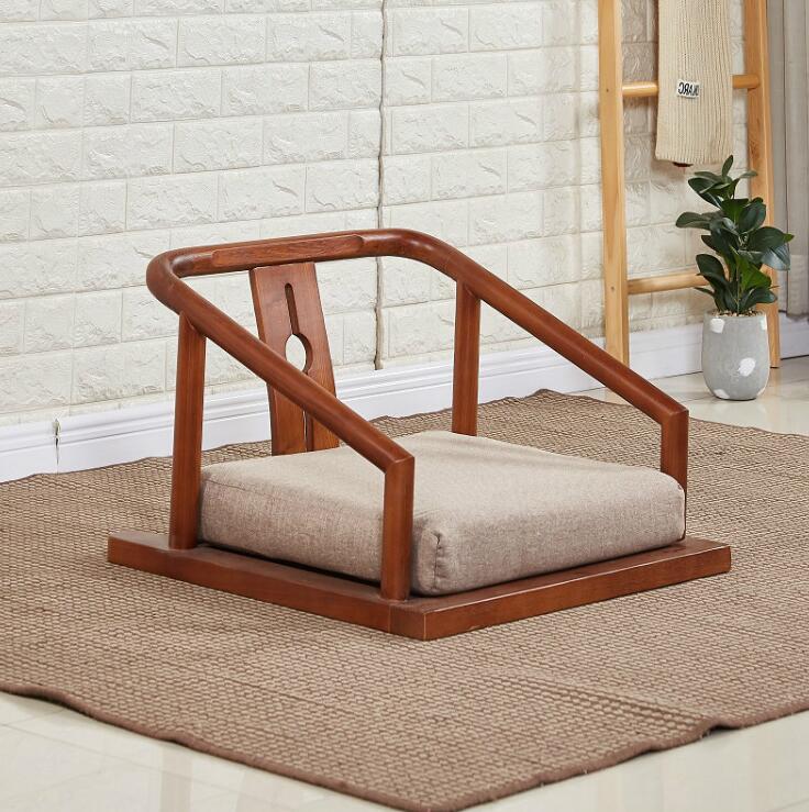Tatami, piso sin patas, sillas Zaisu, sillón, muebles asiáticos, asiento tradicional de estilo japonés para sala de Tatami