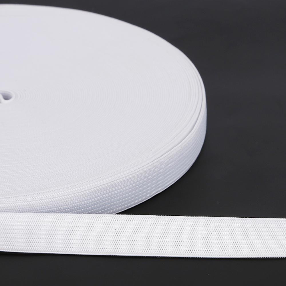 5 ярдов, разные размеры, белая плоская тонкая широкая эластичная резинка, аксессуары для одежды, аксессуары для шитья из нейлона