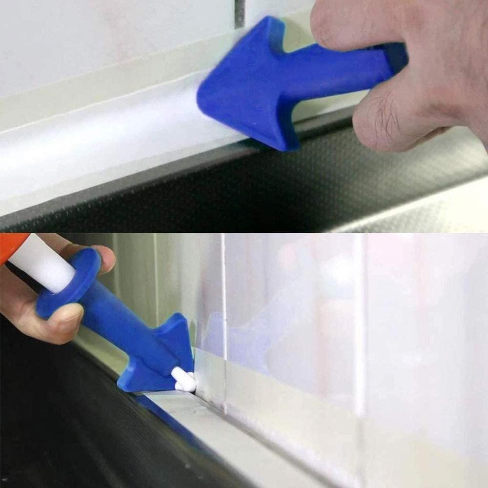 3 ks aplikátor těsnící trysky silikonové těsnicí nástroje - Stavební nářadí - Fotografie 4