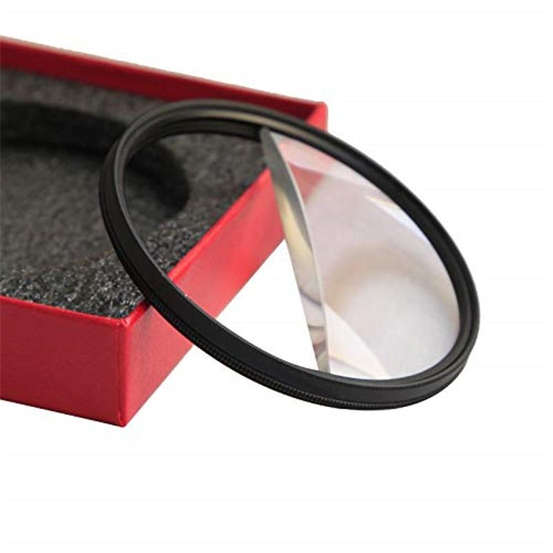 Filtro de Câmera Número de Assuntos Divisão Diopter Rotativa Filtro Prisma Mutável Câmera Fotografia Acessórios 77mm