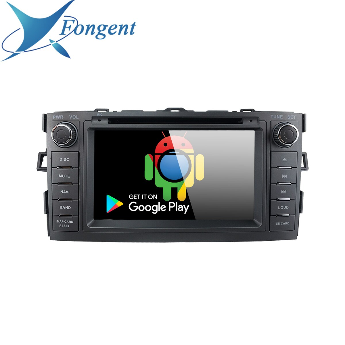 Para Toyota Auris 2008, 2009, 2010, 2011, 2012 2 Din Radio GPS DVD Navi Audio estéreo reproductor Multimedia DSP Carplay de Audio estéreo
