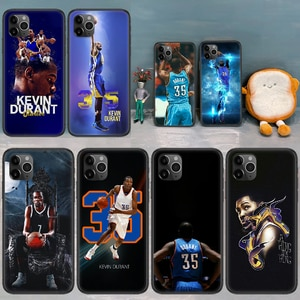 basketball Kevin Durant Phone Case Cover Hull For iphone 5 5s se 2020 6 6s 7 8 11 12 mini plus X XS XR PRO MAX black Cover 3D