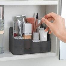 Çok fonksiyonlu cilt bakımı ürünleri uzaktan kumanda kozmetik takı saklama kutusu makyaj kozmetik organizatör saklama kutusu 2019