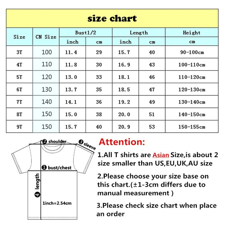 Children Funny 100% Cotton O-Neck T Shirt Summer Girls Kids Boys T-shirt 2021 Toddler Boy Short Sleeve Fashion Casual Tees Top  - buy with discount