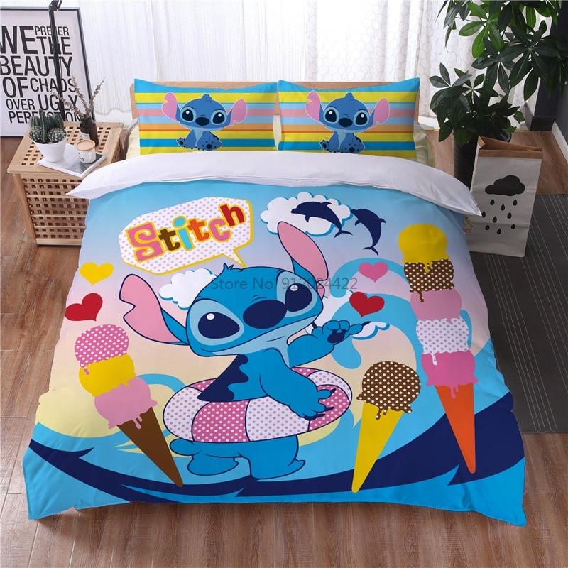 غرزة أغطية سرير طقم سرير اليورو واحدة مزدوجة الملكة الملك الحجم المعزي حاف مجموعة غطاء المخدة الكبار الأطفال غرفة نوم المنزل