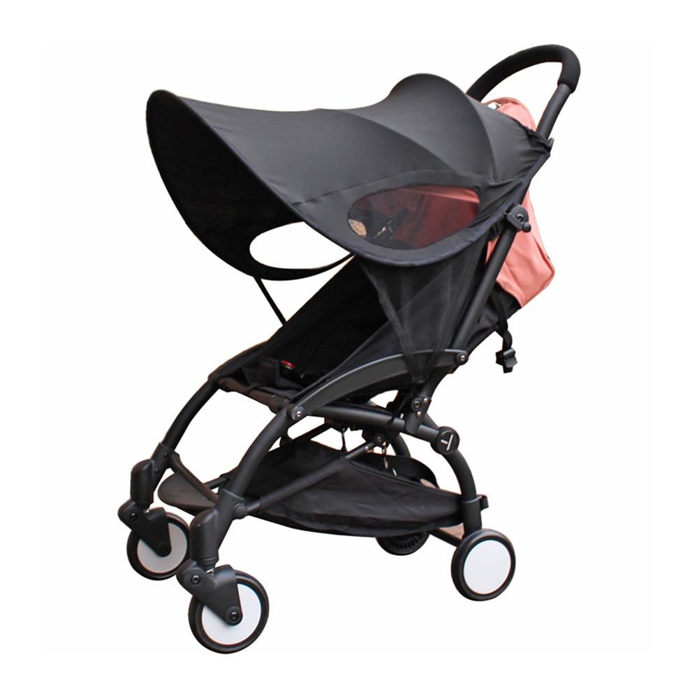 universal carrinho de bebe acessorios toldo dossel transporte sol viseira capa para