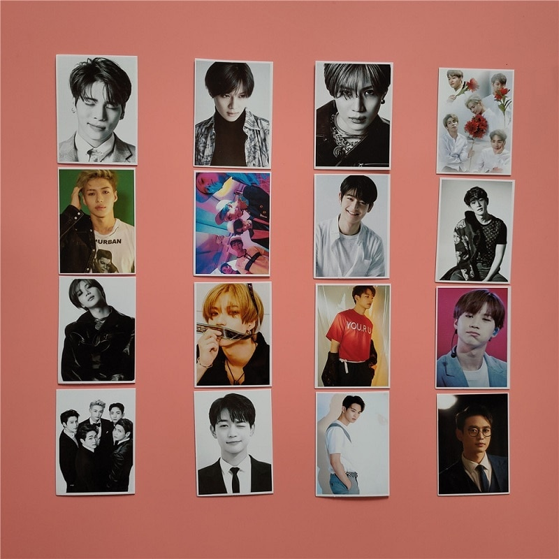 KPOP SHINee Photo Small Card Postcard Photo Photo LOMO Card Lee Taemin TAEMIN Kim Jonghyun Jonghyun Hot Sale the 20th memorial at collectors edition kim jkwang seok lee jong gu release date 2016 04 26 kpop