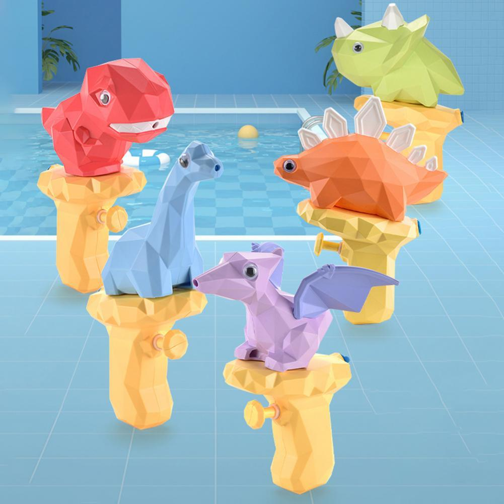 Water Spray Lovely Watertight Design Plastic Cartoon Dinosaur Kid Spray Toy Party Interactive Game T