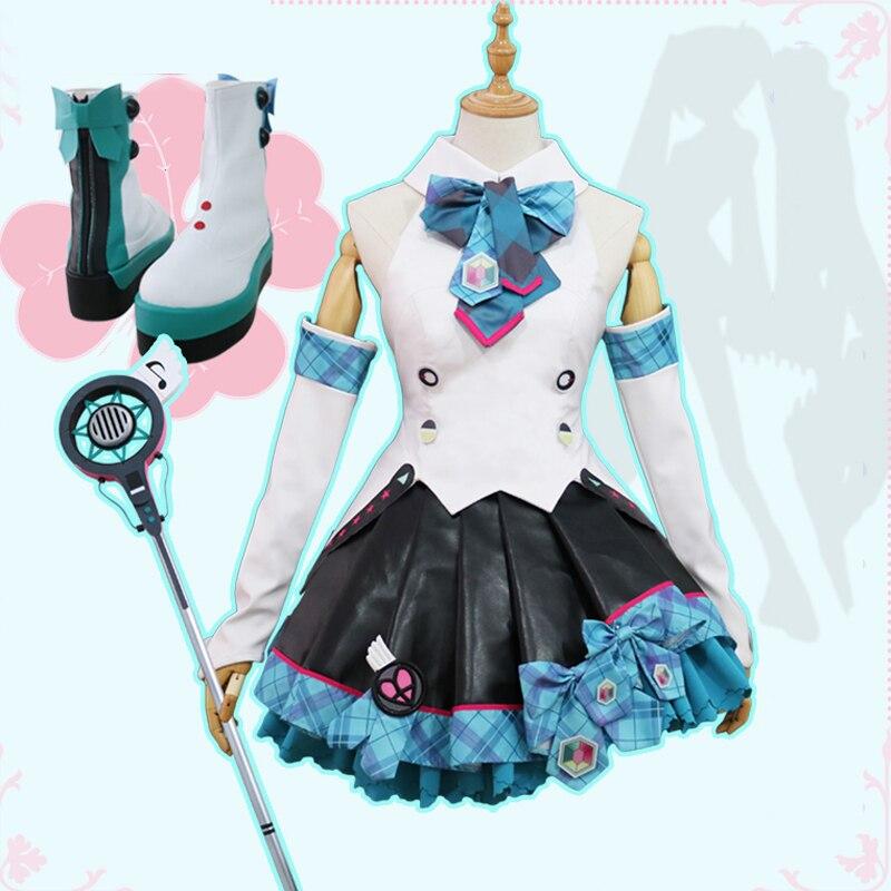 VOCALOID Hatsune Miku 2017 mágica MIRAI cosplay traje