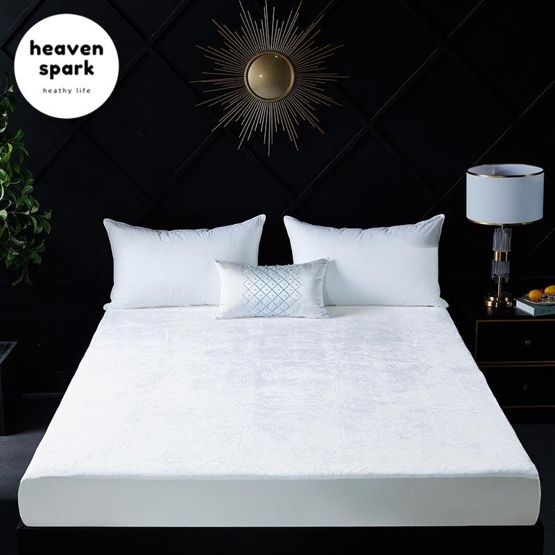 ملاءة سرير الفندق ناعمة مع شريط مطاطي ، غطاء سرير صلب ، مضاد للتجاعيد ، يتلاشى ، البقع والتآكل ، مقاومة الفانيلا ، 150x200