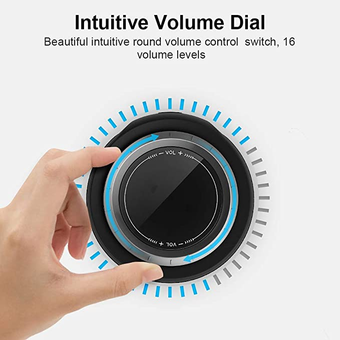Portable Bluetooth Speaker 360° TWS Surround Sound 30W Strong Bass100 Ft Wireless Bluetooth IPX7 Waterproof ZoeeTree S12 speaker enlarge