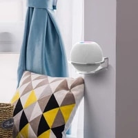 2 pieces support de montage mural pour Apple HomePod Mini Smart haut-parleur cintre support peu encombrant
