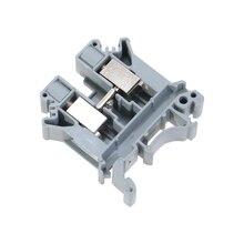 10pcs UK3N gray plastic screw  contact Terminal Blocks  rail terminal wiring row