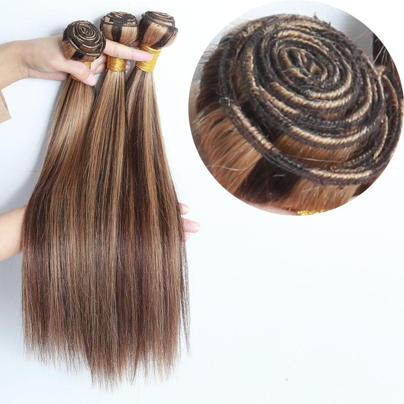Bone Straight Hair Extensions Human Hair Bundles Brazilian Deals Raw Virgin Hair Weave 3 Bundles Nat