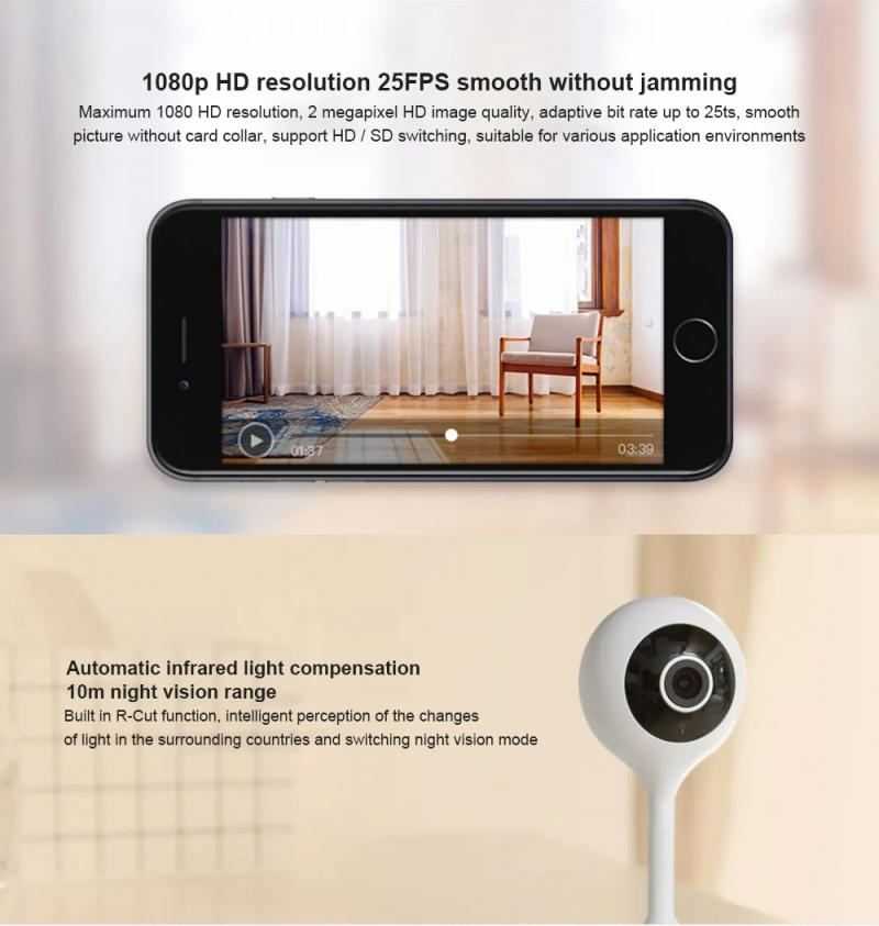 Mini Camera IPC Mini 7S 720P Home Camera IP Camera Smart Video Cams With Montion Detect Wifi Camera Security enlarge