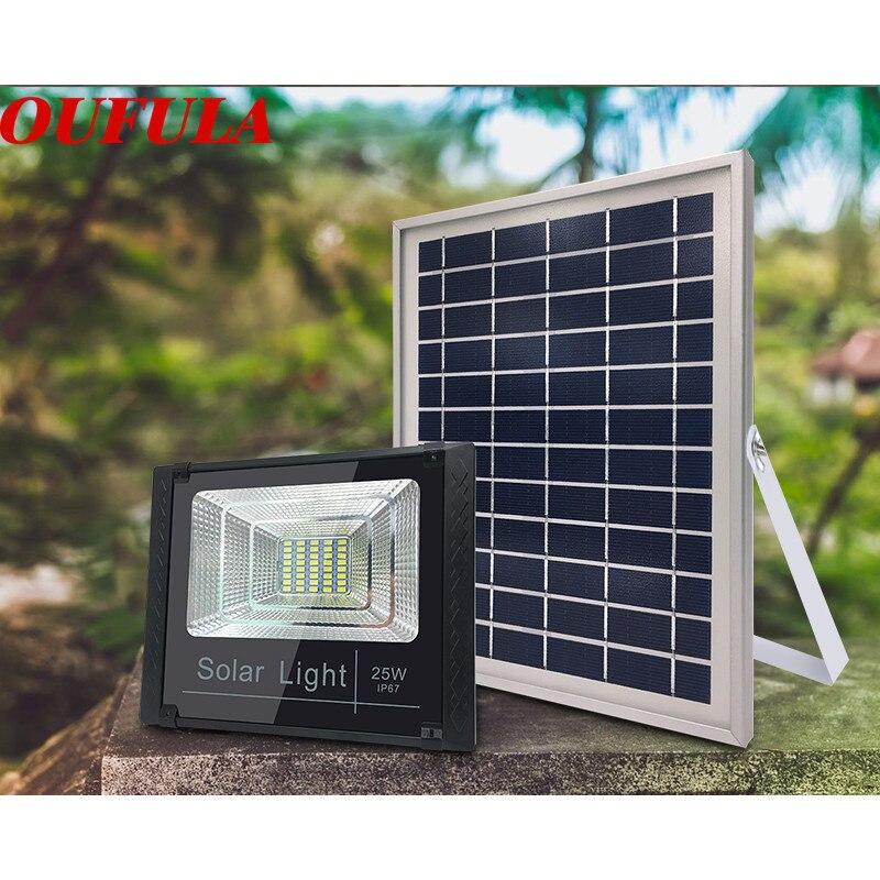 Solar Light 25W 40W 60W Split Outdoor Courtyard Light Illumination  Rural Waterproof Flood Light LED Intelligent Light Control