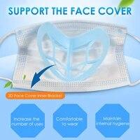 Support de masque buccal 3D  10 20 pieces  aide a la respiration  Support de coussin interne pour une respiration confortable