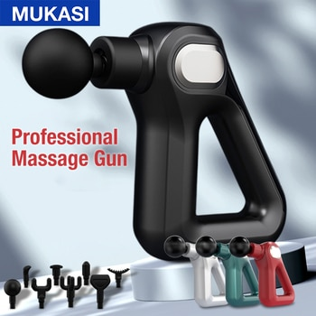MUKASI Massage Gun Deep Tissue Electric Massager Therapy Neck Body Muscle Stimulation Pain Relief Relaxation Fitness Shaping