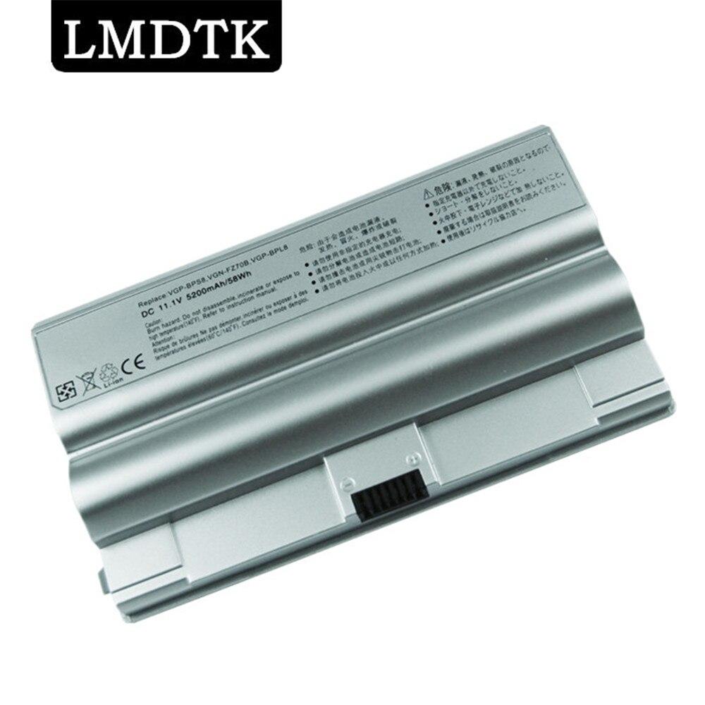 LMDTK 6 خلايا بطارية كمبيوتر محمول لسوني VAIO VGP-BPS8 VGP-BPS8 VGP-BPL8 VGP-BPS8A FZ50B FZ90S PCG-3A1M [لا CD] شحن مجاني