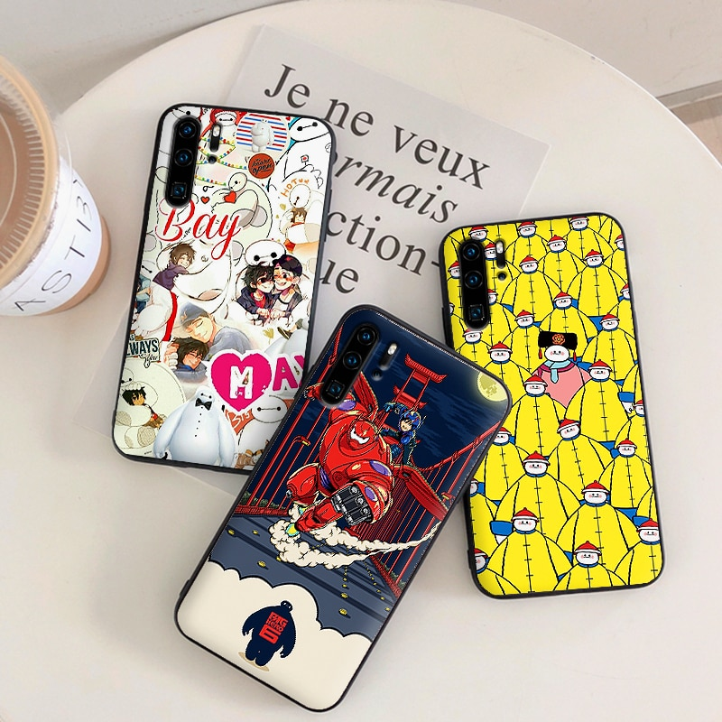 Funda de teléfono de silicona suave Big Hero 6 bay max para Huawei P10 P20 2019 P8 P9 Mini P30 LITE para huawei P Smart Z 2018 P20 Pro Coque