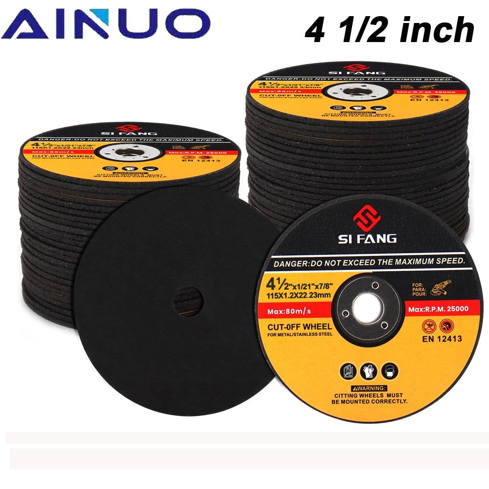 115mm Шлифовальные диски Круг отрезной (обрезной) Металлические и нержавеющие режущие диски лоскут шлифовальные диски угловой шлифовальный к...