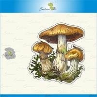 mushrooms metal cutting dies 2021 new diy molds scrapbooking paper making die cuts crafts