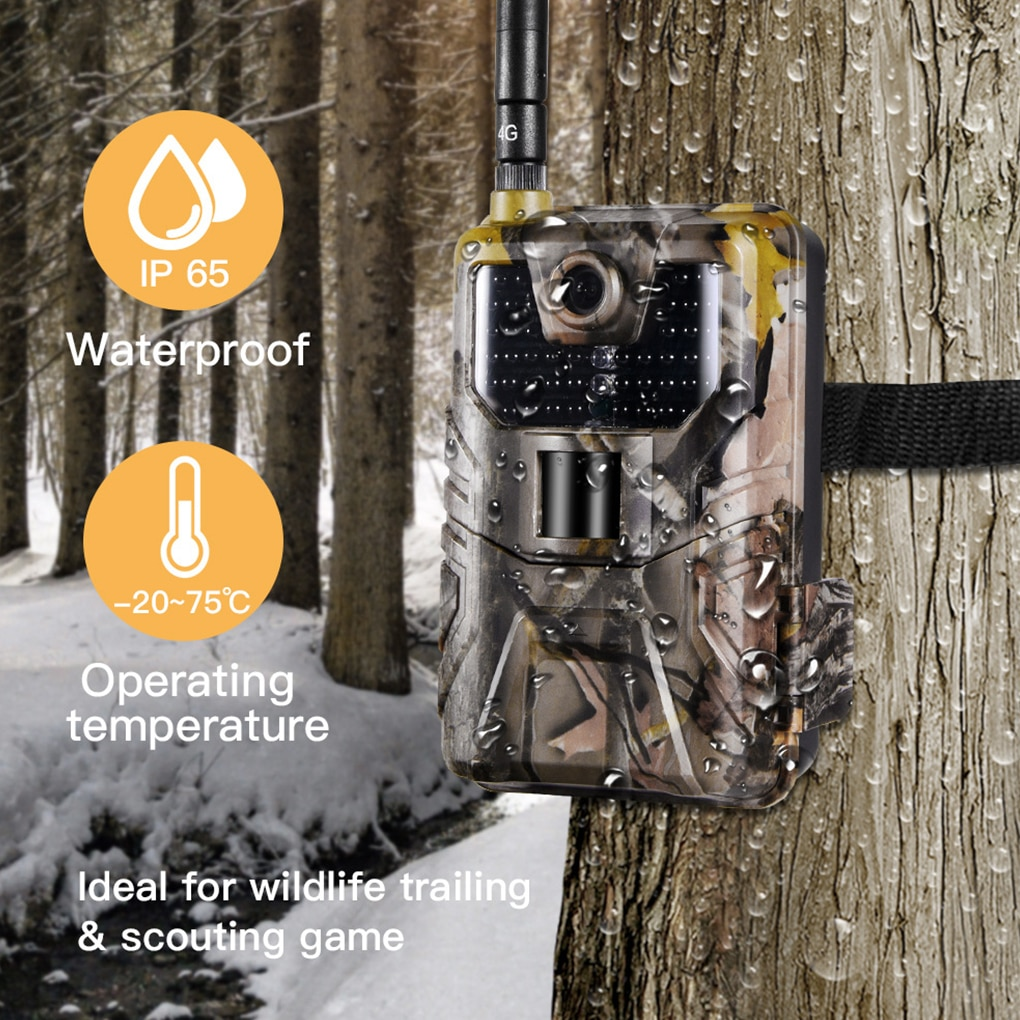 HC-900M 2G Hunting Camera 20MP 1080P SMS MMS SMTP Wildlife Trail Camera Photo Traps Night Vision Email Cellular Camera