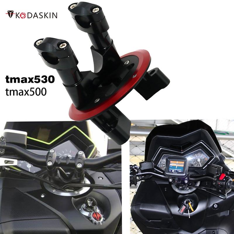 accesorios para moto Motocicletas con elevador de elevador POUR GUIDON para Yamaha tmax 530 max 530 t max530 tmax530 dx sx tmax500 2012-2016 max 500