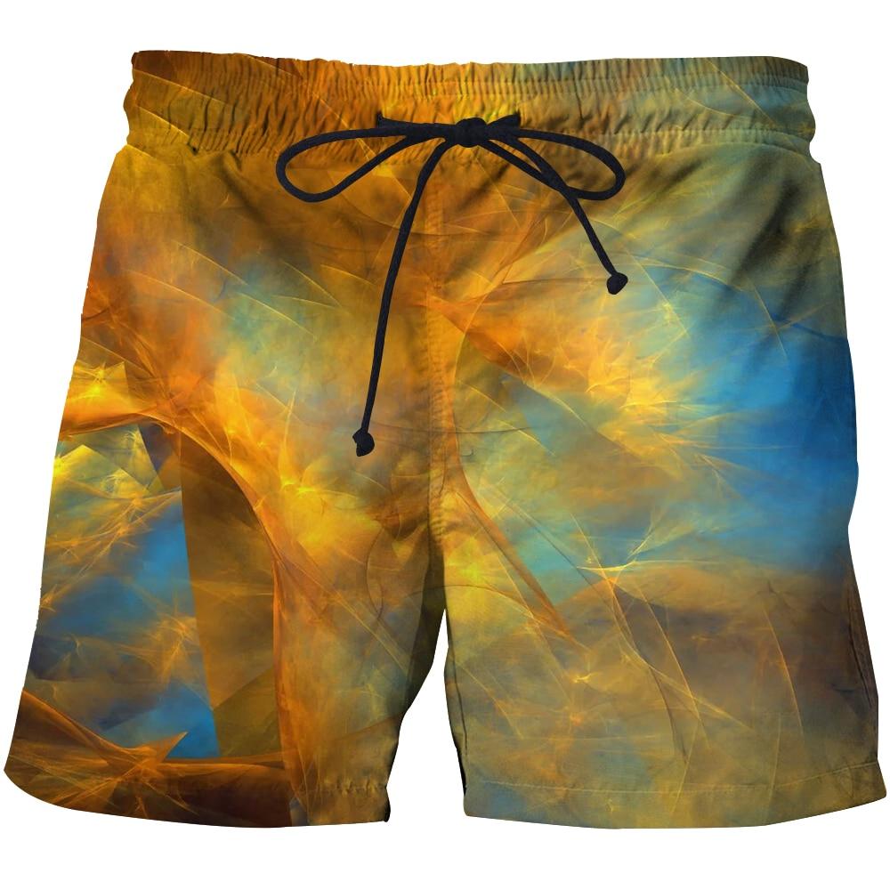 Модные мужские пляжные шорты с 3D-принтом, летние шорты для серфинга, бермуды, баскетбольные брюки, Молодежные шорты, мужские шорты унисекс