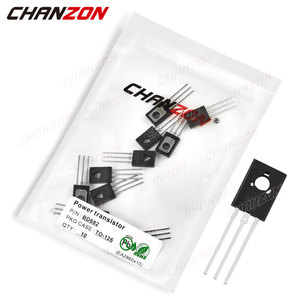 10Pcs BD682 TO-126 Power Transistor Bipolar Junction BJT Powerful Triode Tube Fets DIP -4A -100V Integrated Circuits