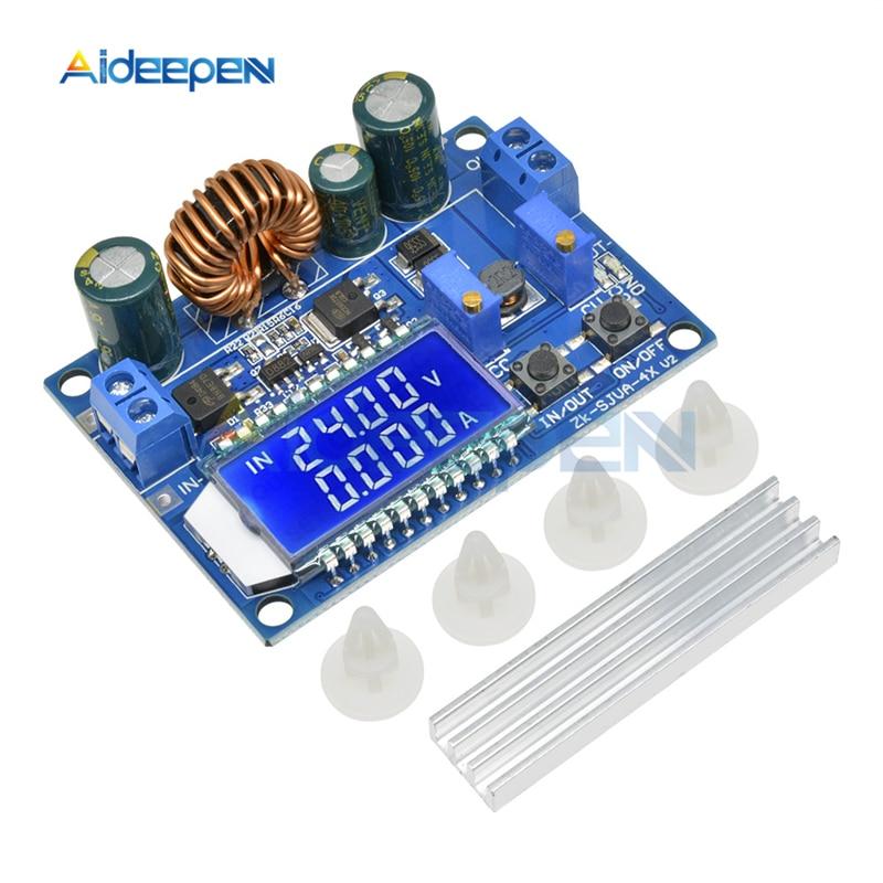 35W 4A DC 5,5-30 V a 0,5-30 V LCD pantalla paso automático abajo Buck módulo de fuente de alimentación de convertidor Boost