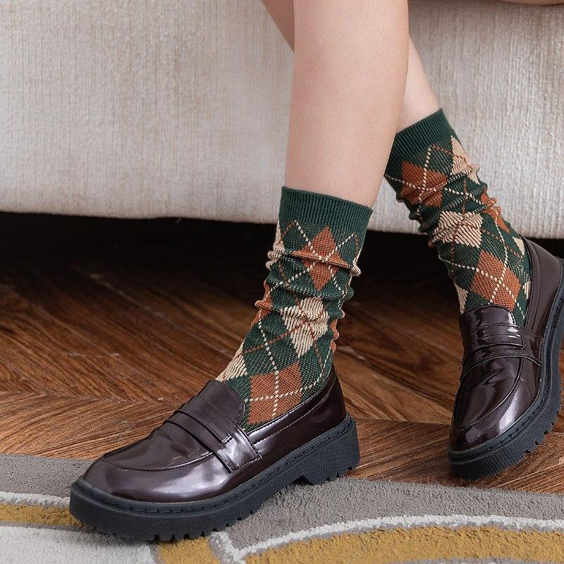 Jeseca alta qualidade 2019 moda meia estilo universitário japonês kawaii meninas bonito meias harajuku vintage streetwear inverno sox