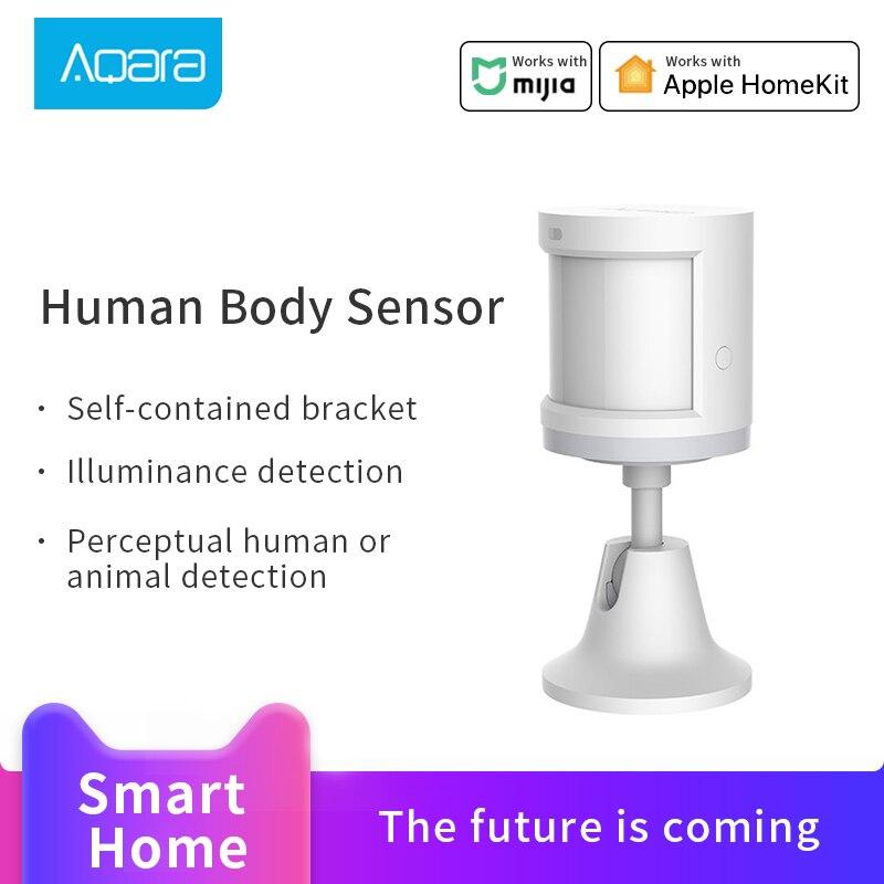 Aqara Menschlichen Körper Sensor für Mijia Smart Home Körper Bewegung Motion Sensor Zigbee Verbindung arbeit für Homekit Mi Hause App