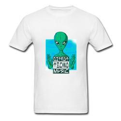 Detroit techno música estrangeiro t-shirts harajuku estrangeiro impressão masculina t camisas hombre camiseta topo tripulação pescoço manga curta verão