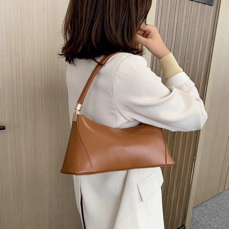 Women Handbag Luxury Design Ladies Shoulder Bags PU Leather Small Casual Top Handle Bags Female Flap High Capacity